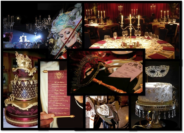 Masquerade Wedding Beija Flor Events Blog